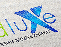 Logo design for medluxe.com.ua