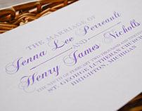 Formal Wedding Ceremony Program