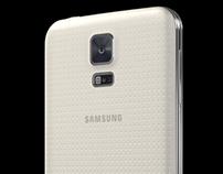 3d Samsung Galaxy 5 for Web