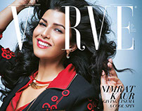 Nimrat Kaur for the Cover of Verve Magazine