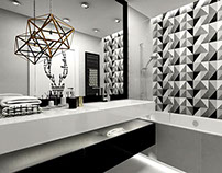 private apartment in Krakow ~ bathroom