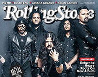 Demonic Resurrection for the Cover of Rolling Stone