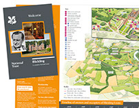 National Trust Blickling Estate welcome leaflet