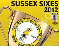 Sussex Sixes Programme Design 2012