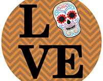 Fall Stitches - LOVE Halloween