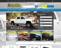 Performance Accessories Website