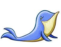 Emojis Bobby Whale