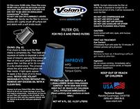 Bottle Labels for Volant