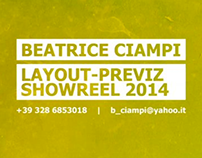 Layout/Previz Showreel