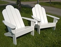 Adirondack -tuoli (Adirondack chair)