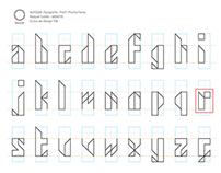 Tipografia experimental - Erre Sans Serif