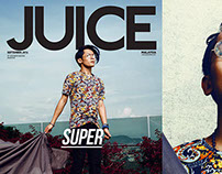 SUPER! For JUICE Magazine