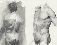 Latest Studies & Sketches - 2014