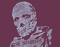 The Breeders - Midwest Coast 2014 Shirt