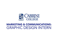 Cabrini College: Marketing & Communications Intern