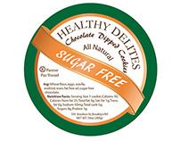 Healthy Delites Cookie Labels
