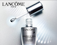 Campaign for LANCÔME ADVANCED GÉNIFIQUE