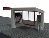 BUS SHELTER DESIGN FOR CITY TRAFFIC