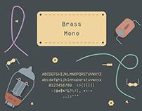 Brass Mono (Free Font)