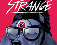 BORN STRANGE illustration / print