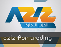 Aziz For trading ( logo )