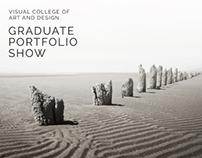 VCAD Graduate Portfolio Show Poster - Fall 2014