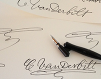 Authentic Historical Handwriting Recreated for Print