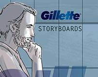 STORYBOARDS | Gillette