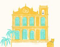 Illustration for Map Faeguesia de São Lázaro