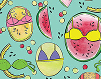 Fruits // Patterns Collection