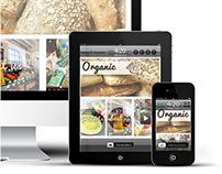Organic Responsive Webpage
