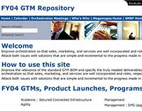 Microsoft Sales and Marketing Web Site