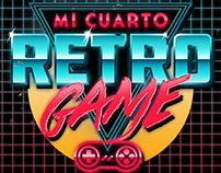 Mi Cuarto Retro Game Logo