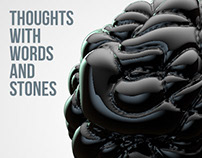 Thoughts with words and stones