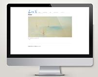 Painter Lia V. | Minimal Portfolio Website