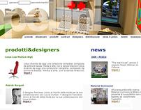 Cappellini Web Site Redesign
