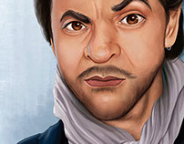 Caricature Eugenio Derbez