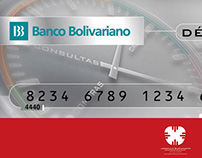banco bolivariano. card I
