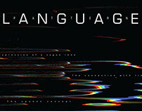 Language Pattern Poster