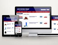 BestOffersToday - 'Latest Deals' Website