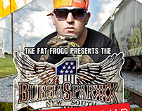 Bubba Sparxxx - Gig Poster and Ticket Design