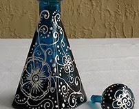 Painted Jars/Bottles