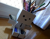 Mr. Pencil Holder