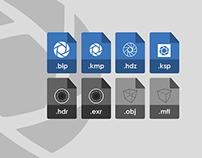 Keyshot icons files v2