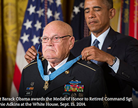 Medal of Honor: Command Sgt. Maj. Bennie Adkins