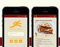Quick Bite Niche Campaign (UX/ UI/ VISUAL/ WEB DESIGN)