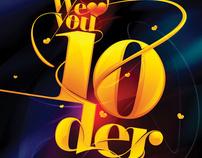 we love you 10der