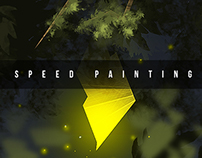 Speed painting in 30 minute