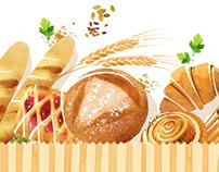 Bonapé, французские пекарни