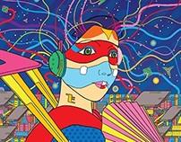 Mindflyer cover version of YMO album art